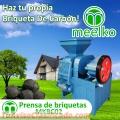 Prensa de briquetas MOD. MKBC02